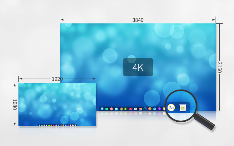 deepin 15.5 provides complete HD support
