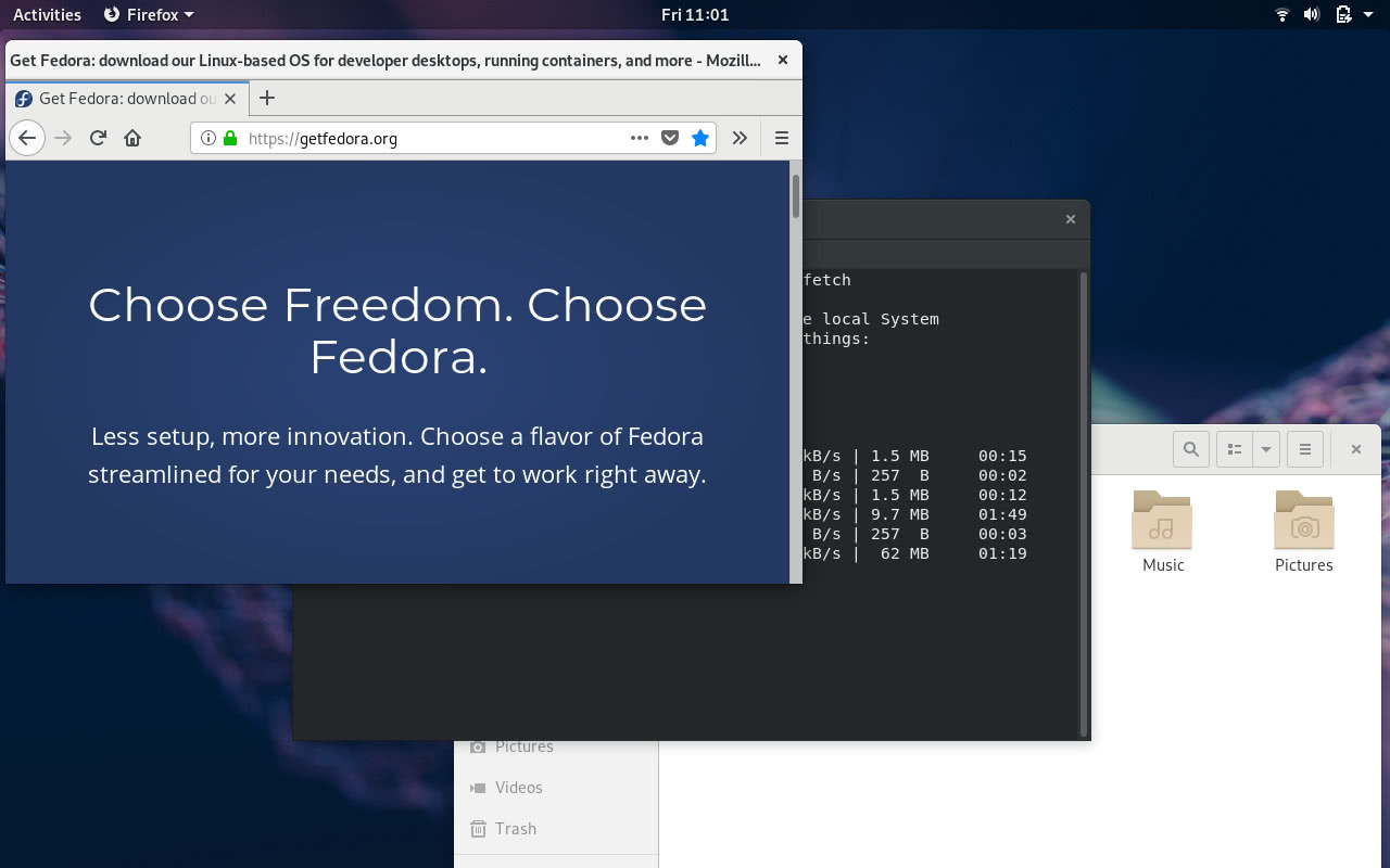 Fedora 29 Preview