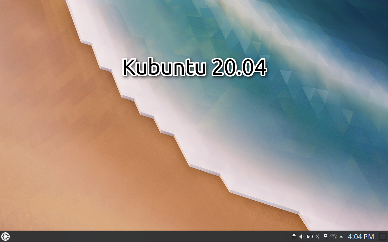 Kubuntu 20.04 Focal Fossa Preview