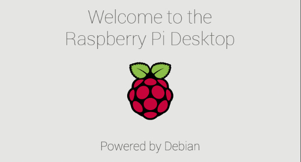 Raspbian 2019.04 boot screen