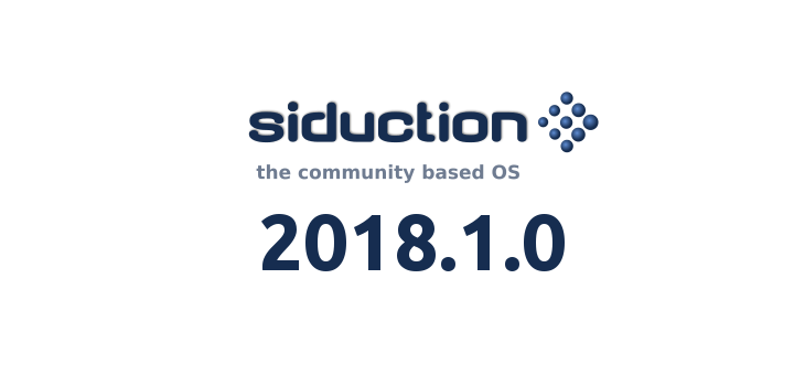 Siduction 2018.1.0 banner