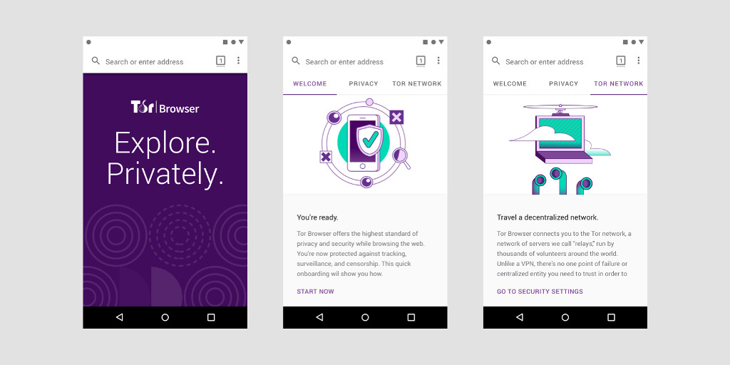 A preview of Tor Browser for Android