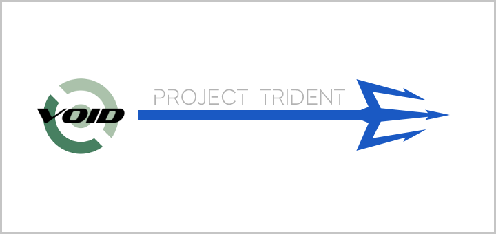 Void Linux based Trident banner