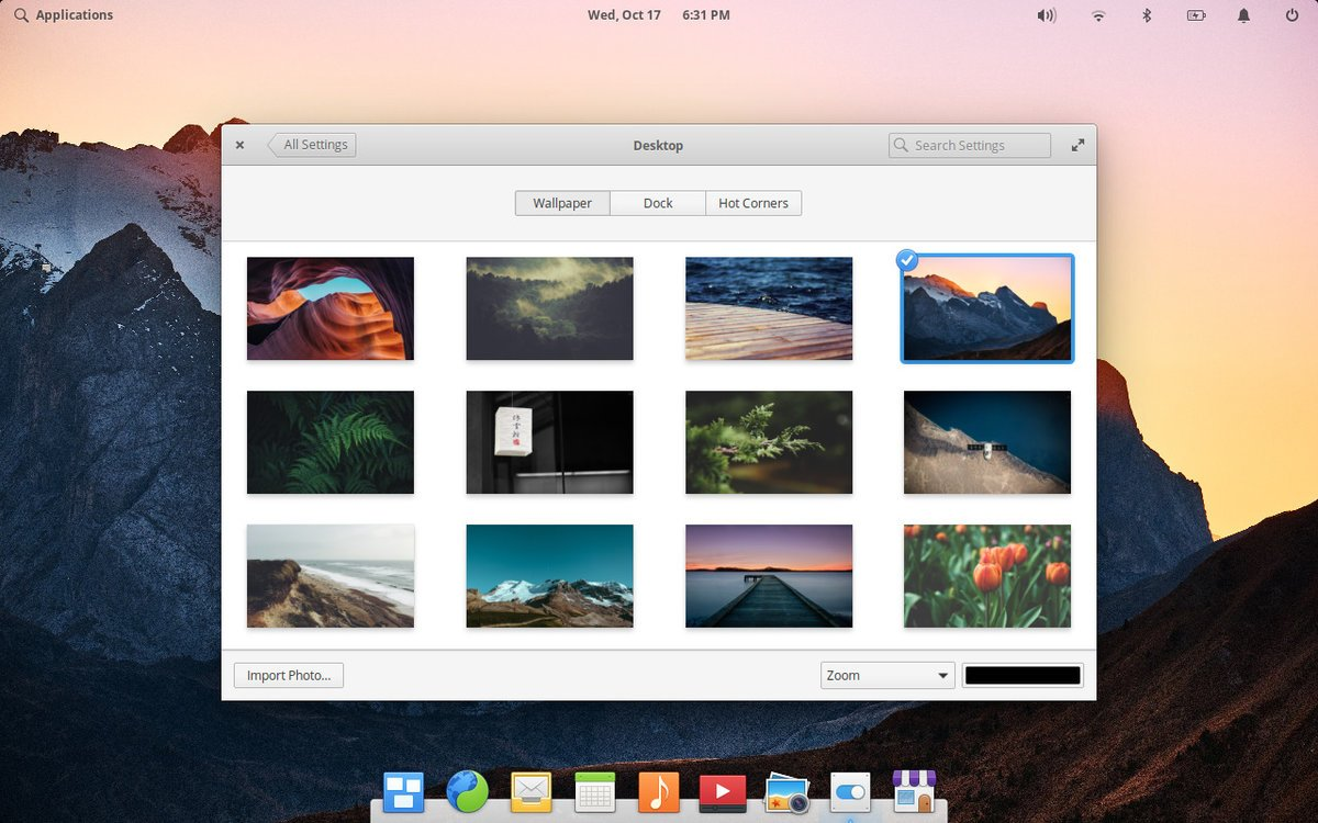 elementary OS (eOS) preview