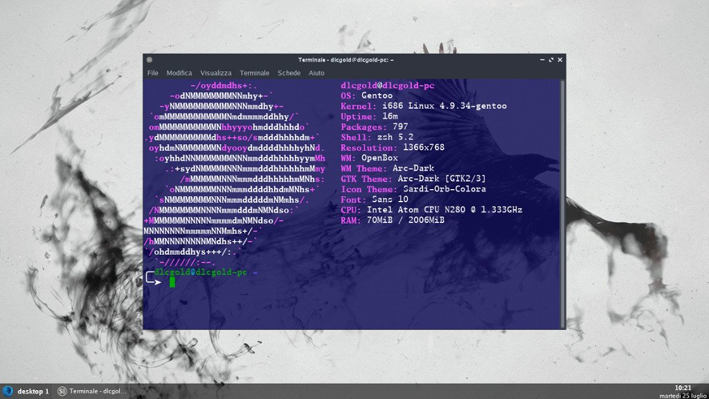 Gentoo Linux preview