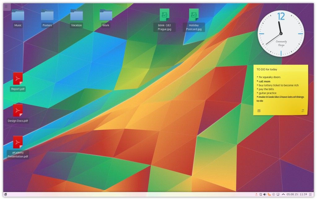 KDE Plasma preview