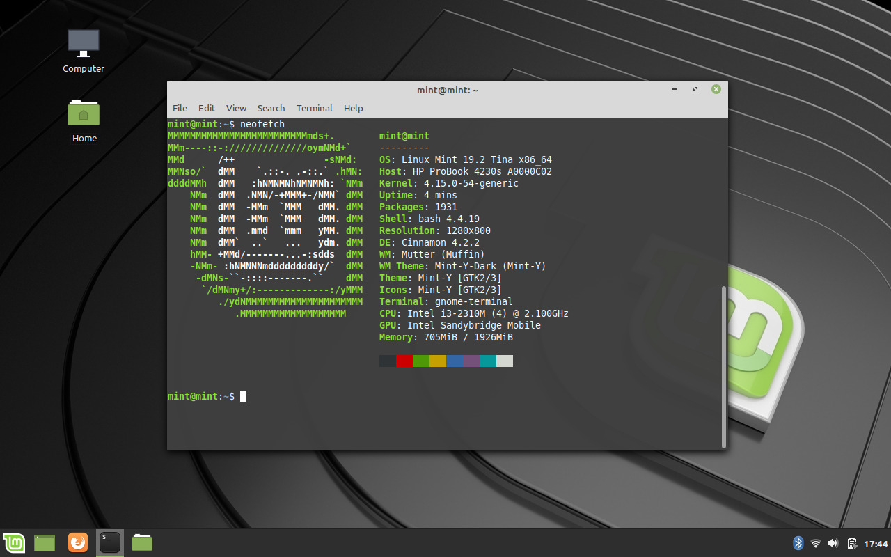 Linux Mint 19.2 Cinnamon Preview