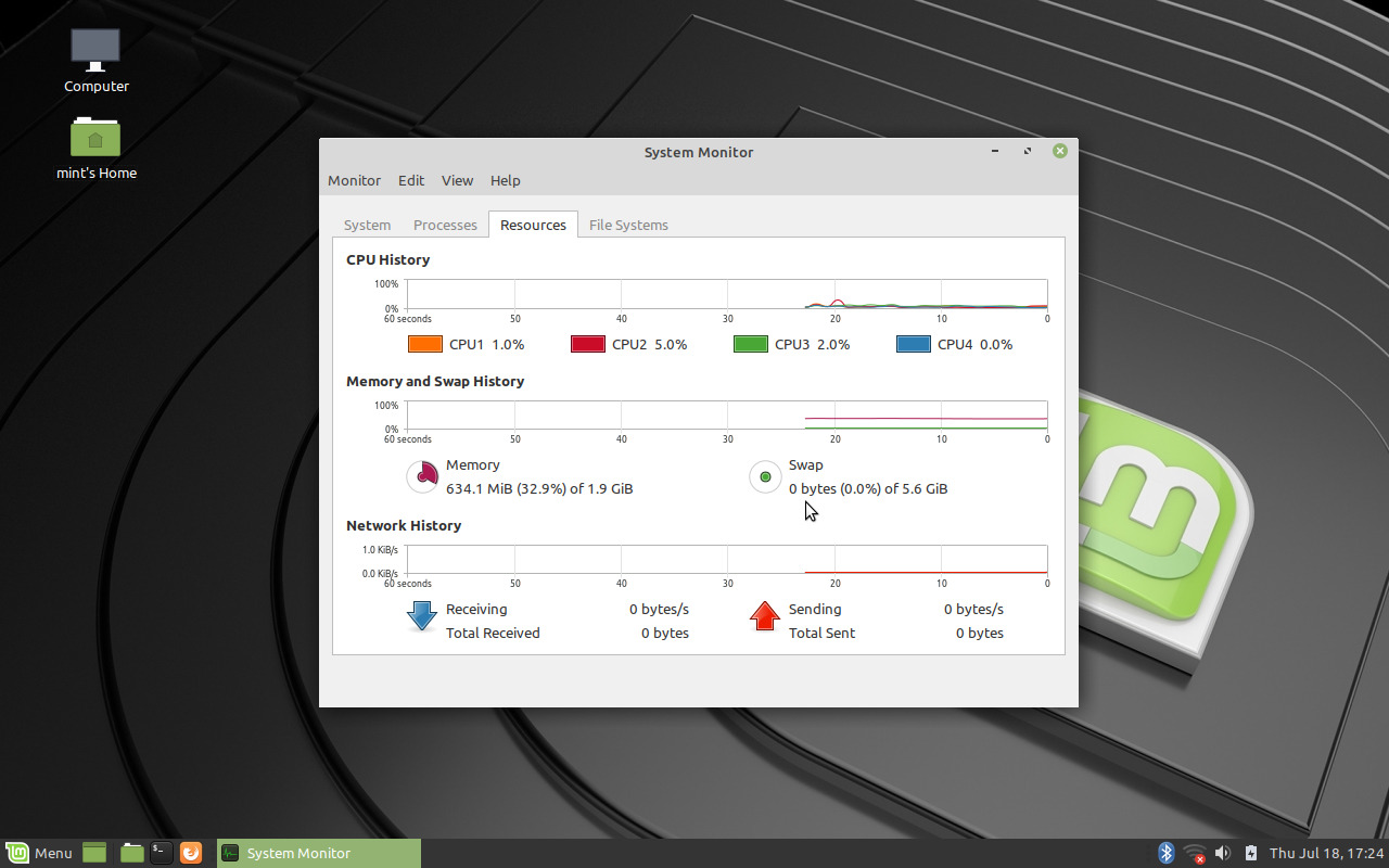 Linux Mint 19 2 Tina - MATE Edition screenshots | OpenSourceFeed