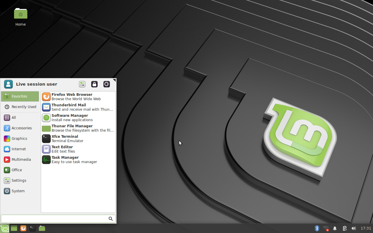 Linux Mint 19.2 Xfce Preview