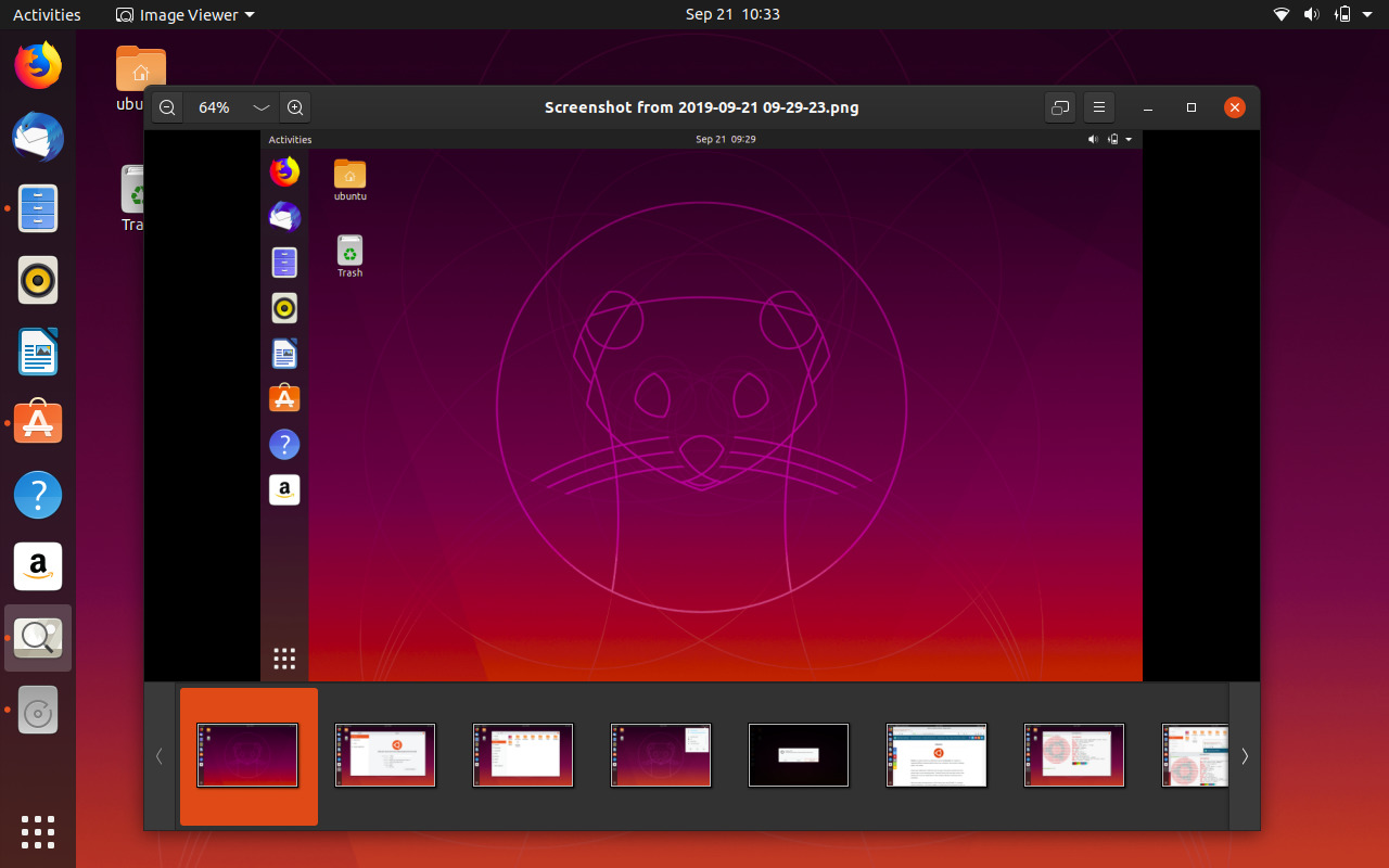 GNOME Photos in Ubuntu 19.10 Eoan Ermine
